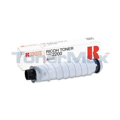 RICOH 2012 TYPE 2200 TONER BLACK
